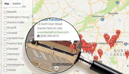 Picture of Furniture Dealer Locator